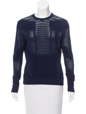 Torn by Ronny Kobo Open-Knit Sweater None