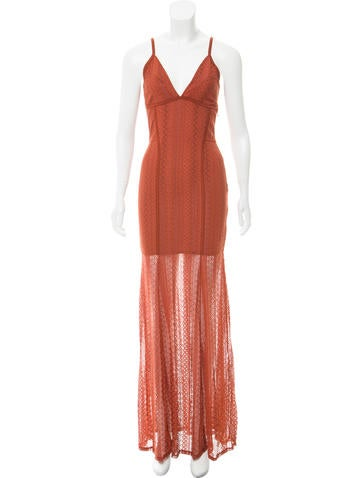 Torn by Ronny Kobo Lace Maxi Dress w/ Tags None