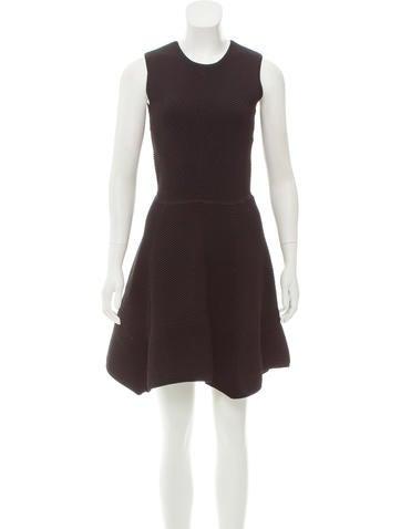 Torn by Ronny Kobo Rib Knit Mini Dress None