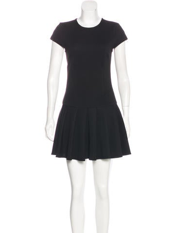 Torn by Ronny Kobo Cap-Sleeve Mini Dress None