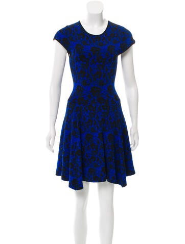 Torn by Ronny Kobo Knit Knee-Length Dress None