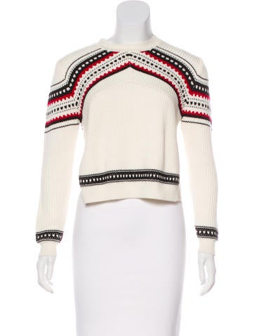 Torn by Ronny Kobo Knit Long Sleeve Sweater None
