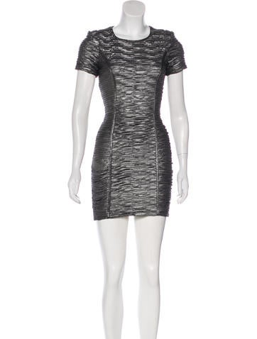 Torn by Ronny Kobo Ruched Bodycon Dress None