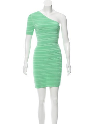 Torn by Ronny Kobo One-Shoulder Mini Dress w/ Tags None