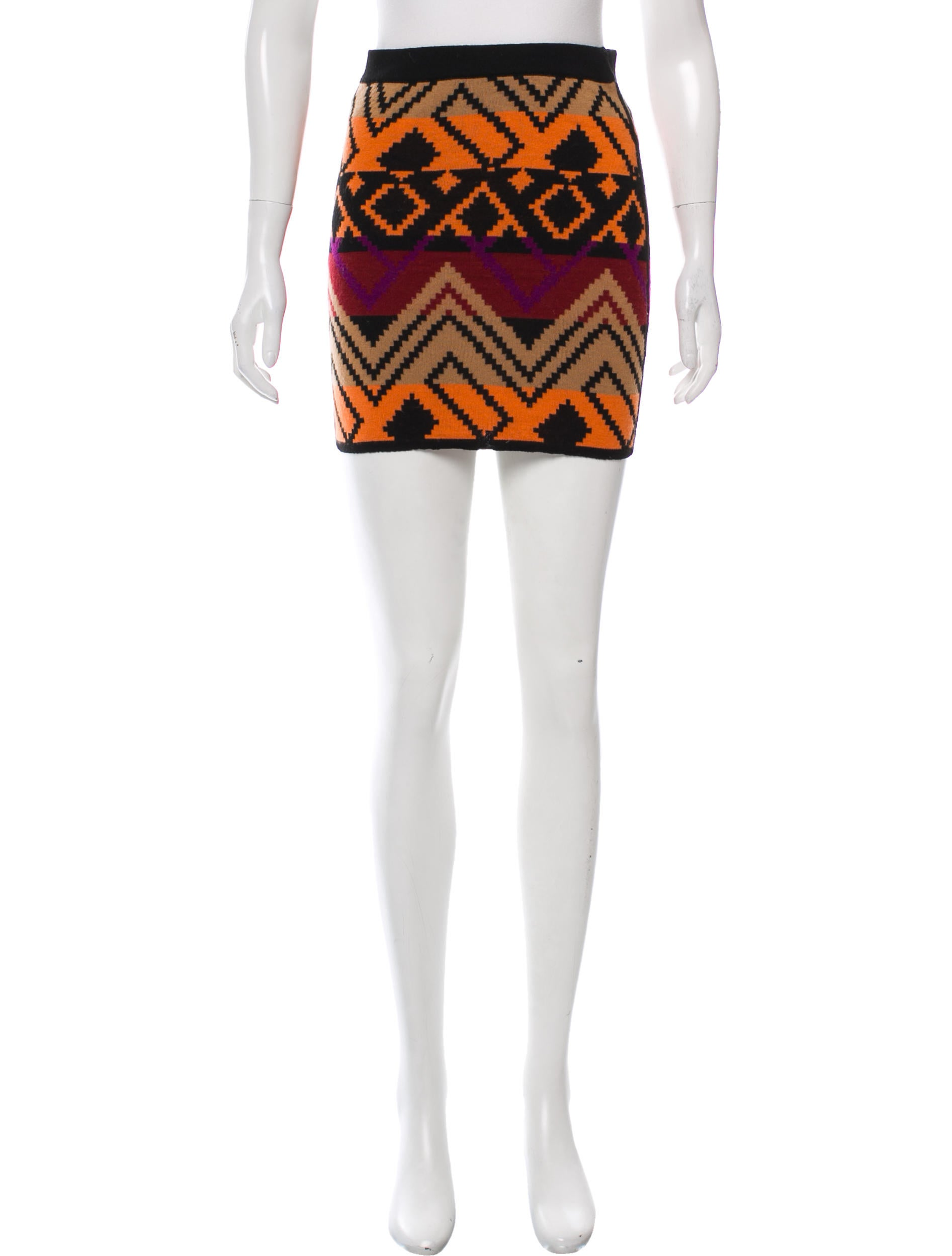 Cheapest Price Online Torn by Ronny Kobo Wool Pattern-Knit Mini Skirt Ebay Limited Edition Sale Online Visit Sale Newest ICE8k