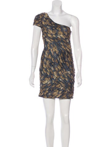 Torn by Ronny Kobo One-Shoulder Mini Dress None