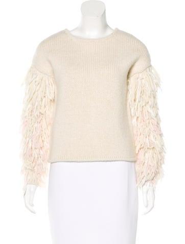 2017 Karash Fringe Sweater