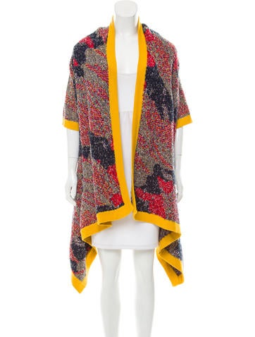 Tabula Rasa Patterned Macaw Cardigan None