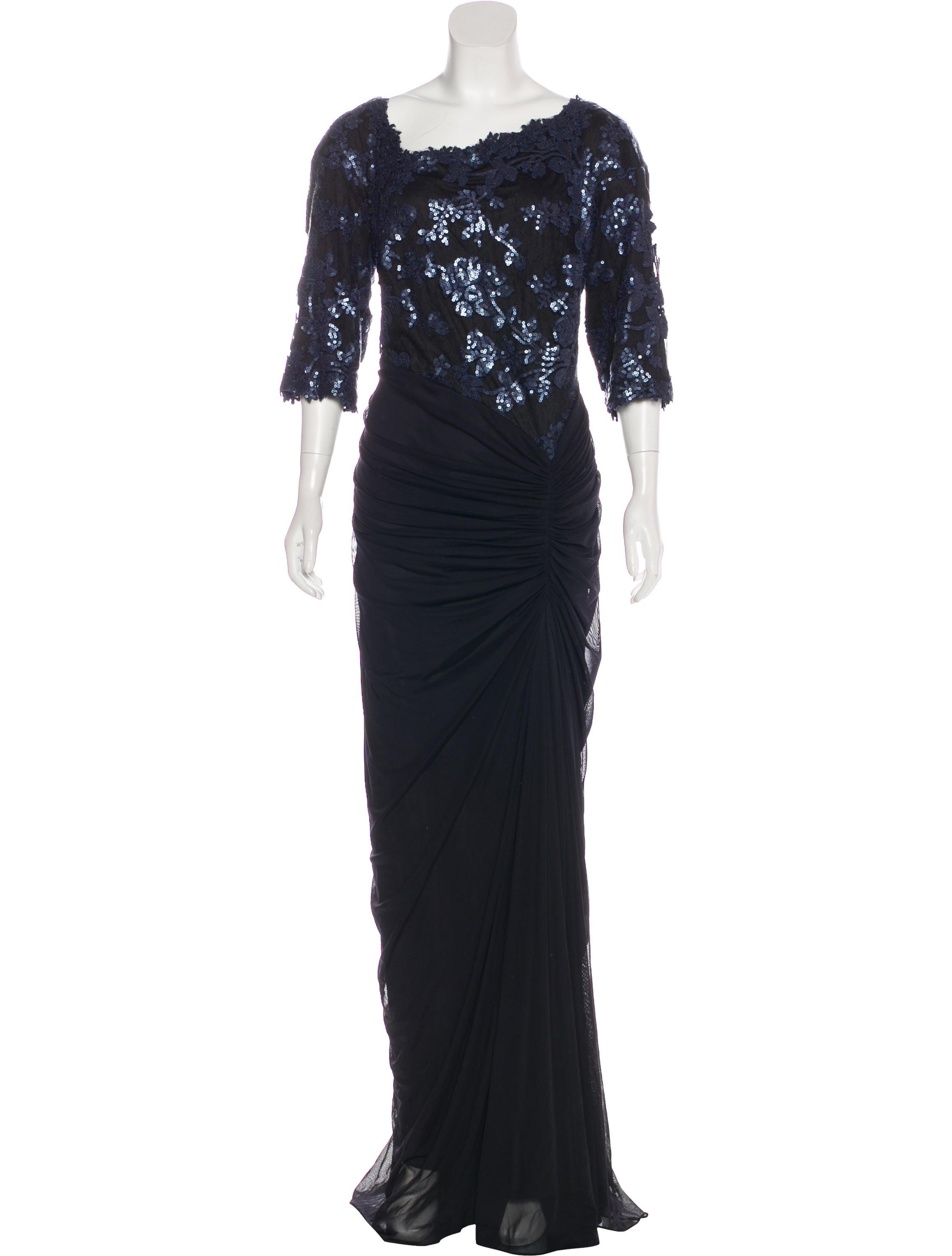 Tadashi Shoji Sequined Evening Dress - Clothing - WTASH20294 | The ...