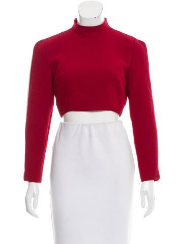 Tata Naka Wool Crop Top w/ Tags None