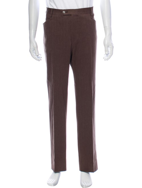 Tavola Oggetti Dress Pants Brown
