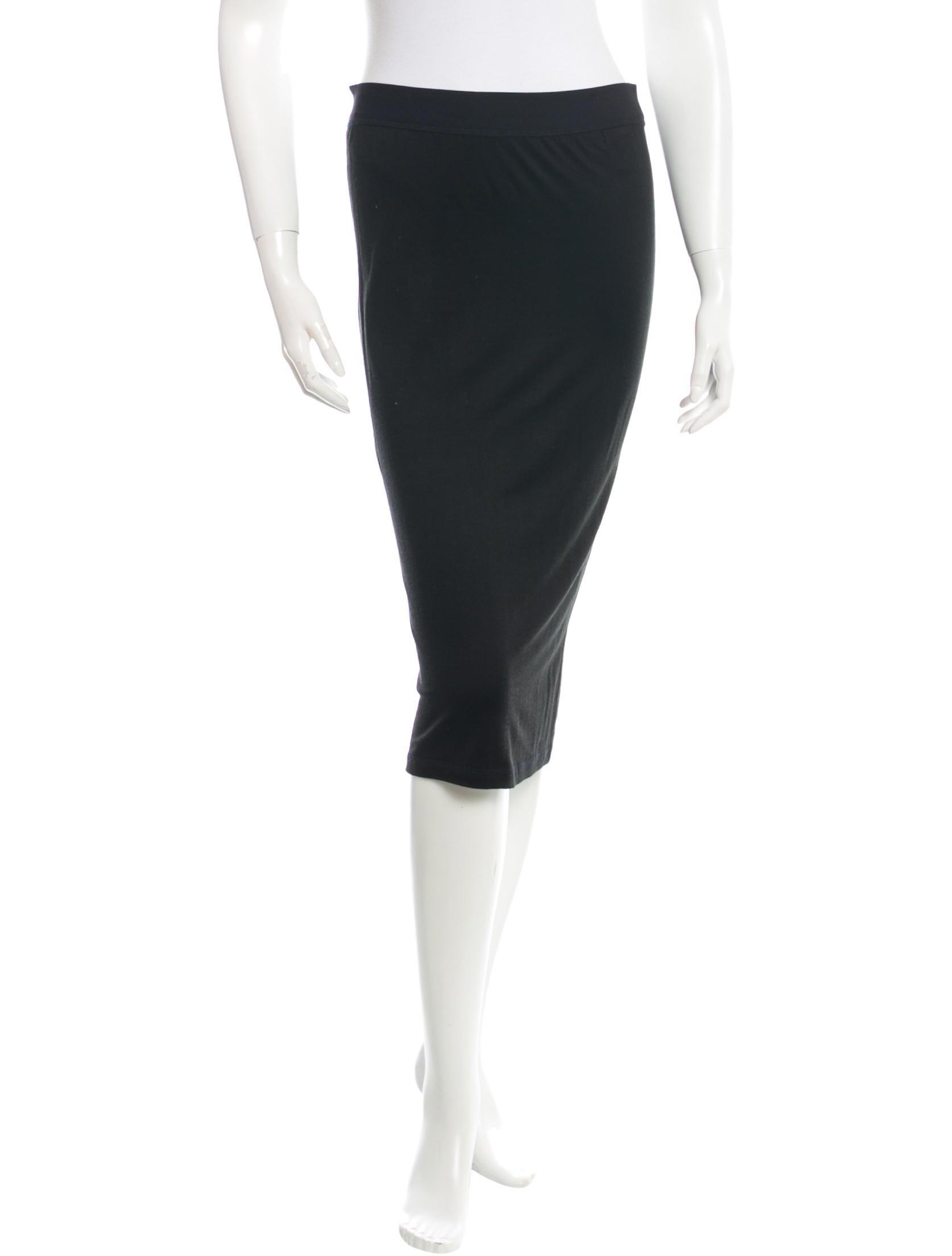 t by wang midi stretch skirt clothing