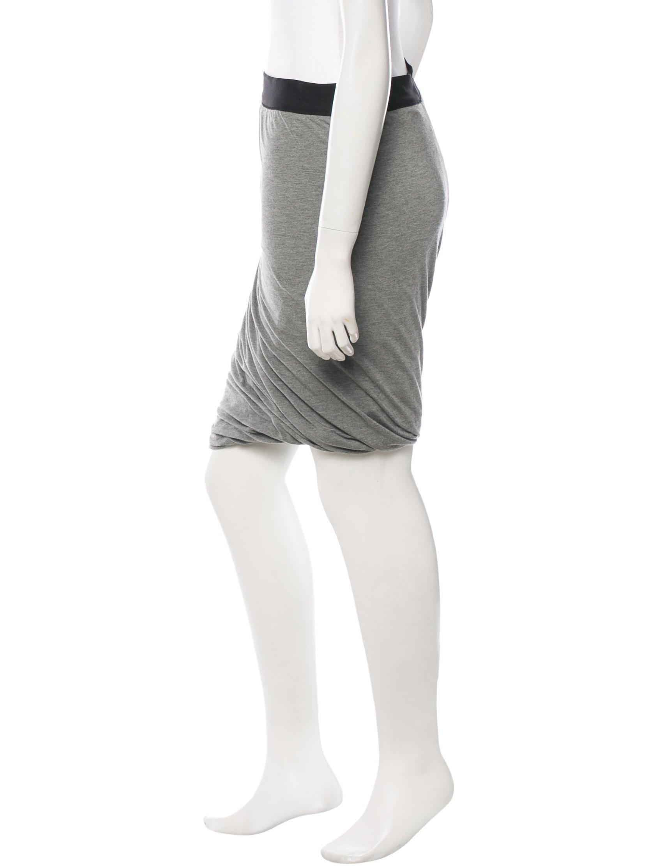 t by wang knee length hem skirt