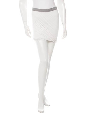 T by Alexander Wang Jersey Knit Strapless Top None