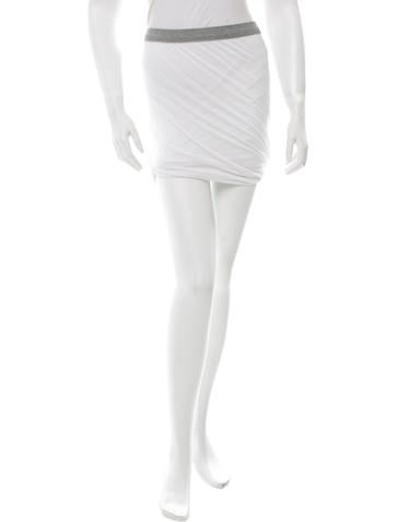 T by Alexander Wang Knitted Mini Skirt w/ Tags None