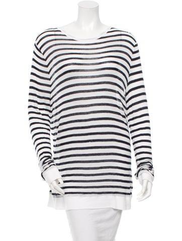 Long Sleeve Striped Sweater