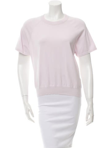 T by Alexander Wang Knit Short Sleeve Top None