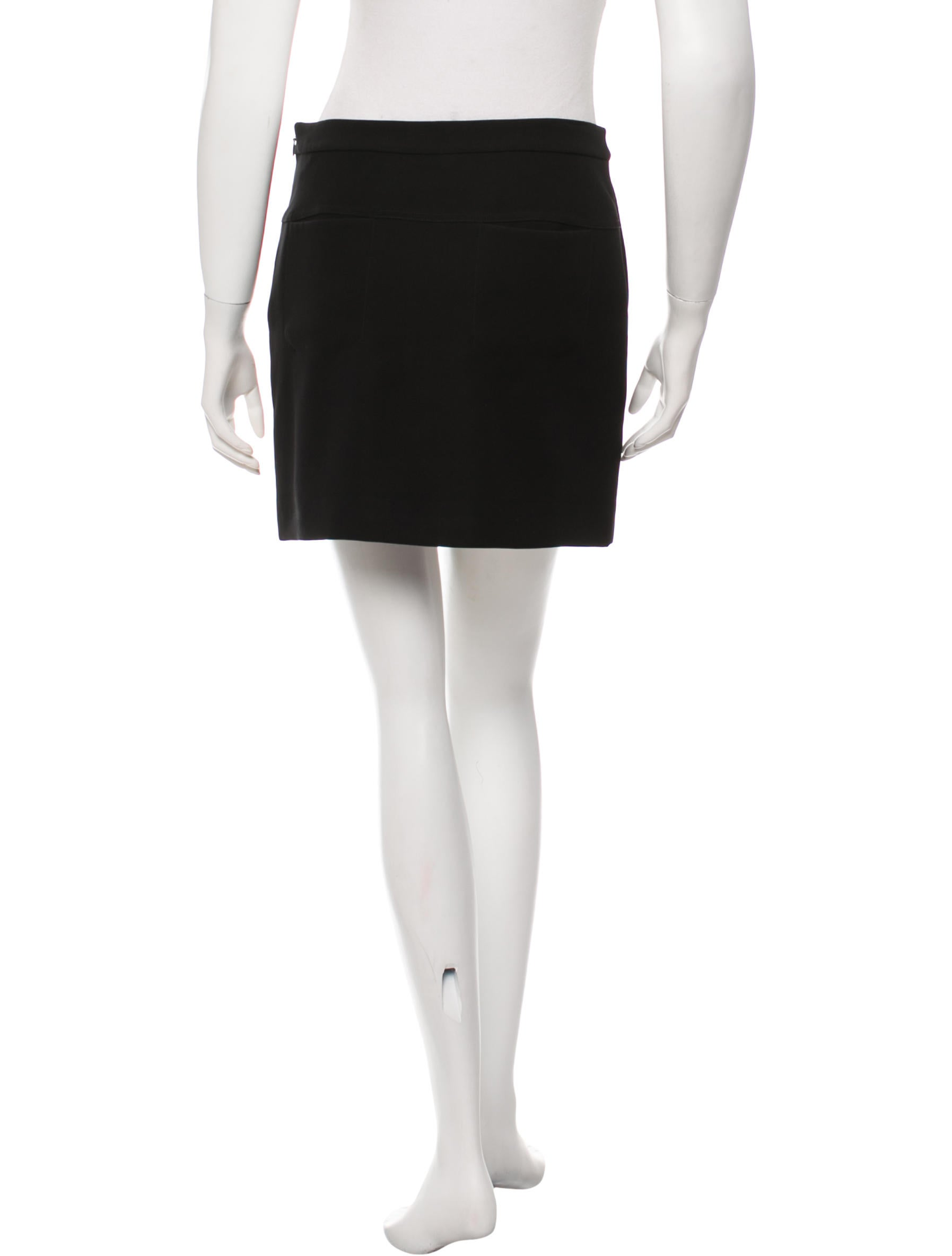 t by wang a line mini skirt clothing