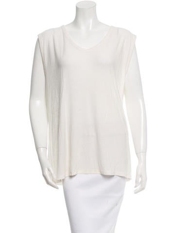 T by Alexander Wang Knit Sleeveless Top None