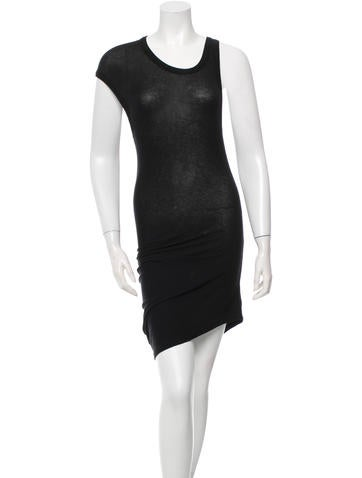 T by Alexander Wang Sleeveless Midi Dress None