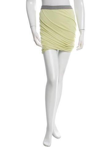 T by Alexander Wang Piqué Mini Skirt
