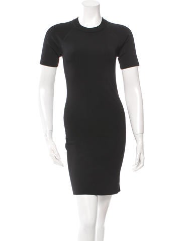 T by Alexander Wang Short Sleeve Knit Dress w/ Tags None