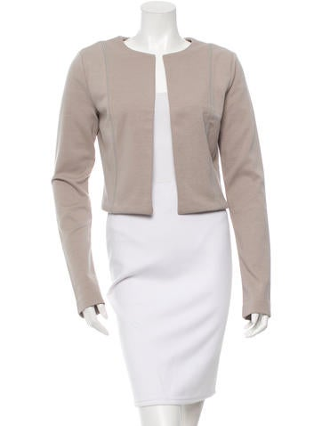 Open Front Cropped Jacket w/ Tags