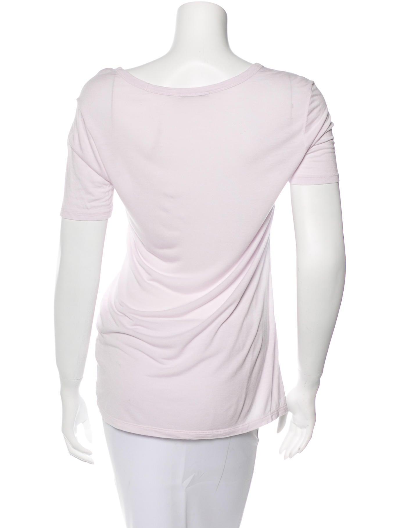 T by alexander wang short sleeve t shirt clothing for Alexander wang t shirt women