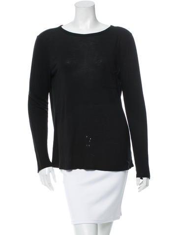 Long Sleeve Scoop Neck T-Shirt