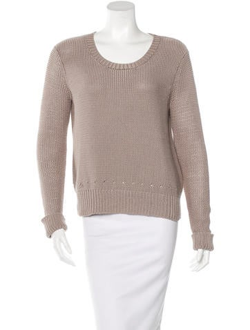 T by Alexander Wang Knit Long Sleeve Sweater None