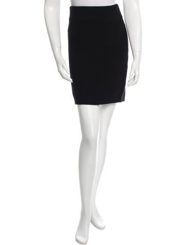T by Alexander Wang Knit Mini Skirt None