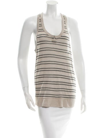 T by Alexander Wang Striped Top None