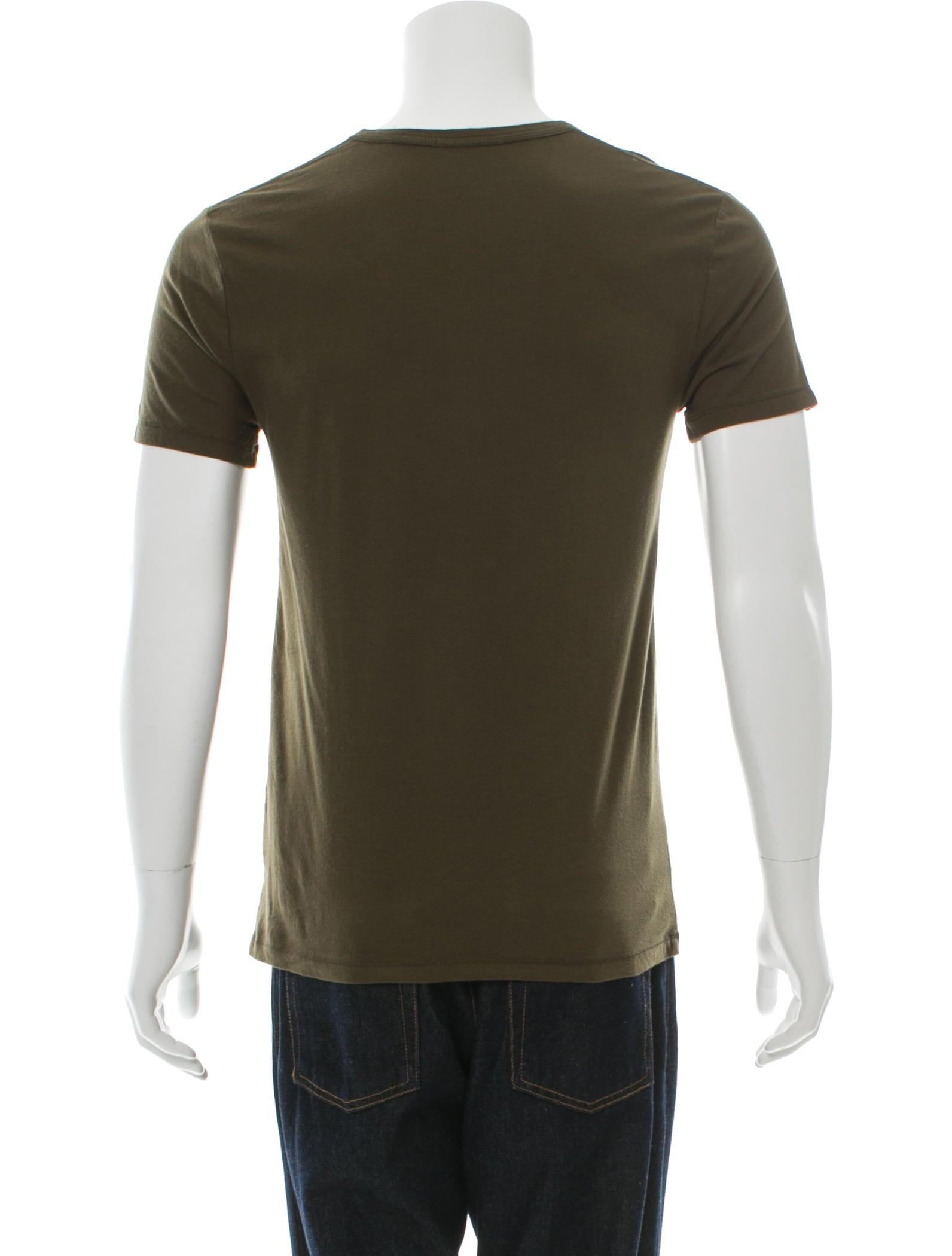 T by alexander wang pullover short sleeve t shirt for Mens pullover shirts short sleeve