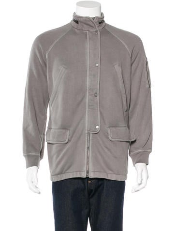 T by Alexander Wang Woven Field Jacket None