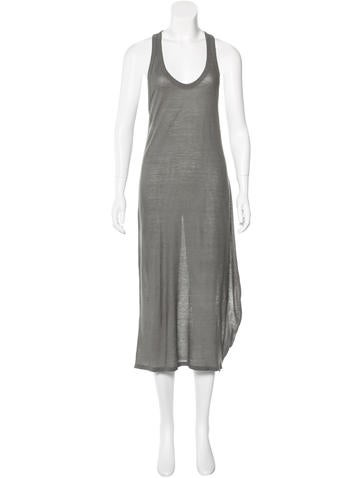 T by Alexander Wang Speckled Maxi Dress None