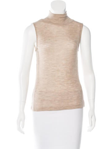T by Alexander Wang Rib Knit Turtleneck Top None