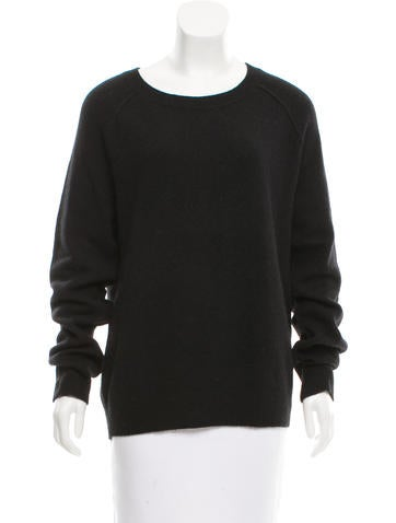 T by Alexander Wang Wool-Blend Rib Knit Sweater None
