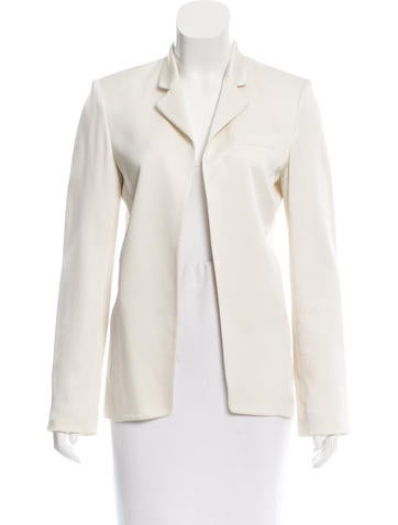 T by Alexander Wang Lightweight Open Front Blazer