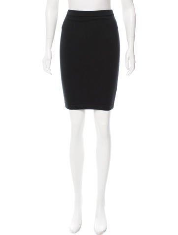 T by Alexander Wang Knit Knee-Length Skirt None