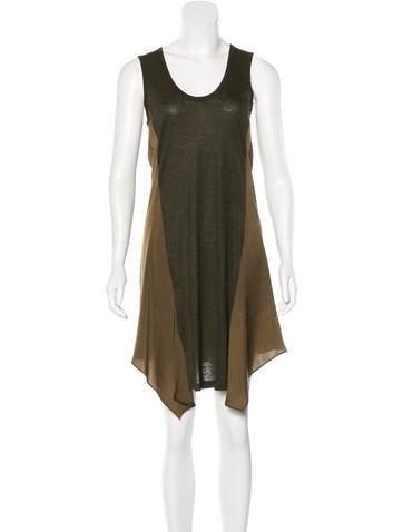 T by Alexander Wang Sleeveless Midi Dress None