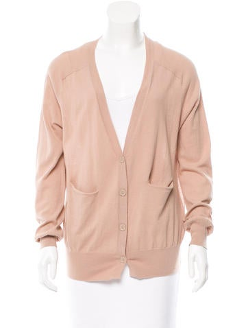 T by Alexander Wang Long Sleeve V-Neck Cardigan None