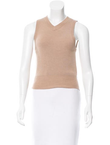 T by Alexander Wang Cutout Wool Top w/ Tags None