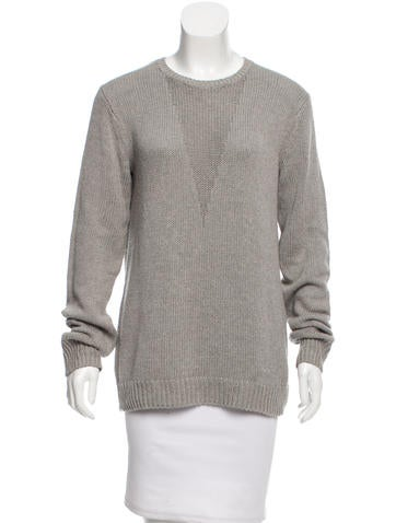 T by Alexander Wang Knit Crew Neck Sweater None