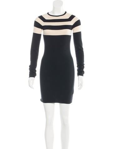 T by Alexander Wang Knit Mini Dress None