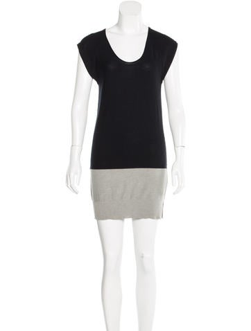 T by Alexander Wang Sleeveless Knit Tunic None