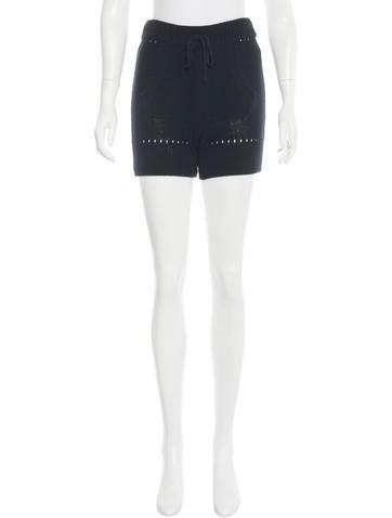 T by Alexander Wang Rib Knit Mini Shorts w/ Tags None