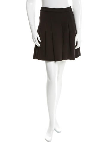 T by Alexander Wang Pleated Mini Skirt