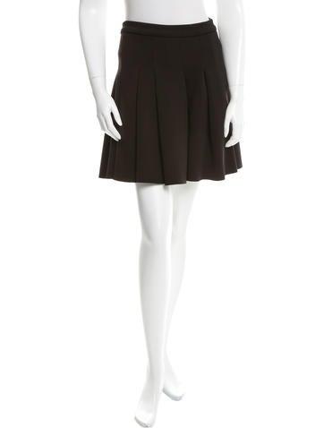 T by Alexander Wang Pleated Mini Skirt
