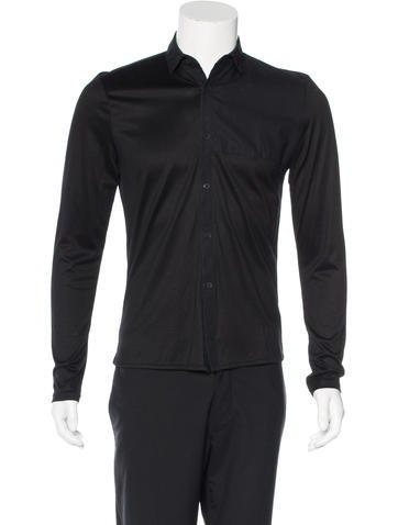 T by Alexander Wang Panel Woven Shirt None