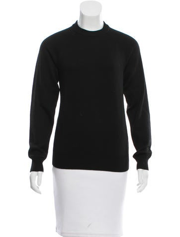 T by Alexander Wang Wool Cutout Sweater None